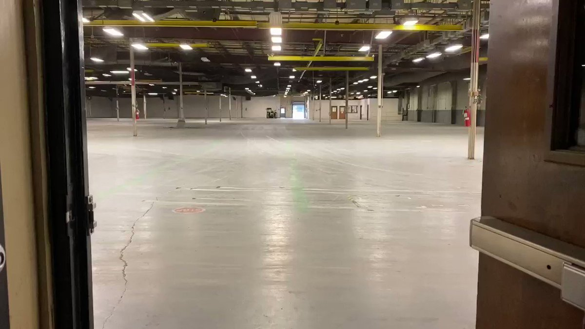 In the coming weeks this warehouse will be stocked with PPE. This space is needed to hold our PPE stockpile MEMA has been building during the COVID-19 pandemic. Currently our PPE is spread across six locations.