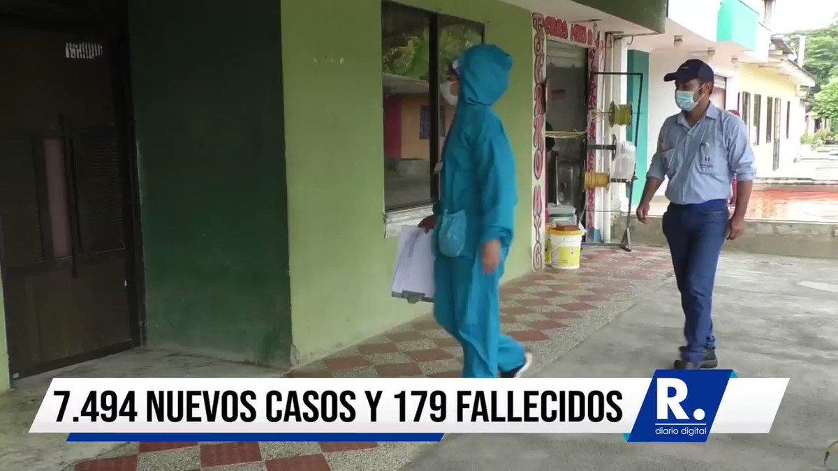 #Nación | COVID-19 en Colombia: 7.494 nuevos casos y 179 fallecidos / https://t.co/WNExof1jQI /  #LaRazónCo #LaRazónTv #COVID-19 #NuevosCasos #Muertos #Coronavirus https://t.co/i2lm1TS9Qy
