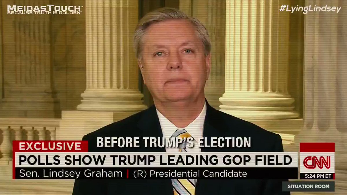Lindsey Graham is not going to want you to retweet this #LyingLindsey 26 Sep 2020 https://t.co/x87Vkv2EFz