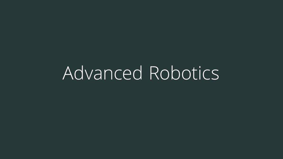 Image for the Tweet beginning: Advanced Robotics - mobile picking