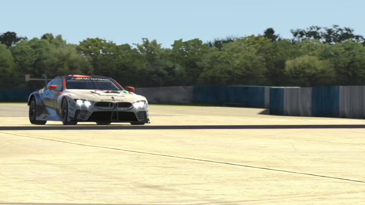 Follow the SCO Sebring race here ➡️ https://t.co/0vqKSO9KkP @ThibCazaubon @R8G_Maarten @RGrosjean @PredatorGaming @SportsCarOpen We faced a disconnection while being P2, but we fight back! https://t.co/eCtngMuOo5