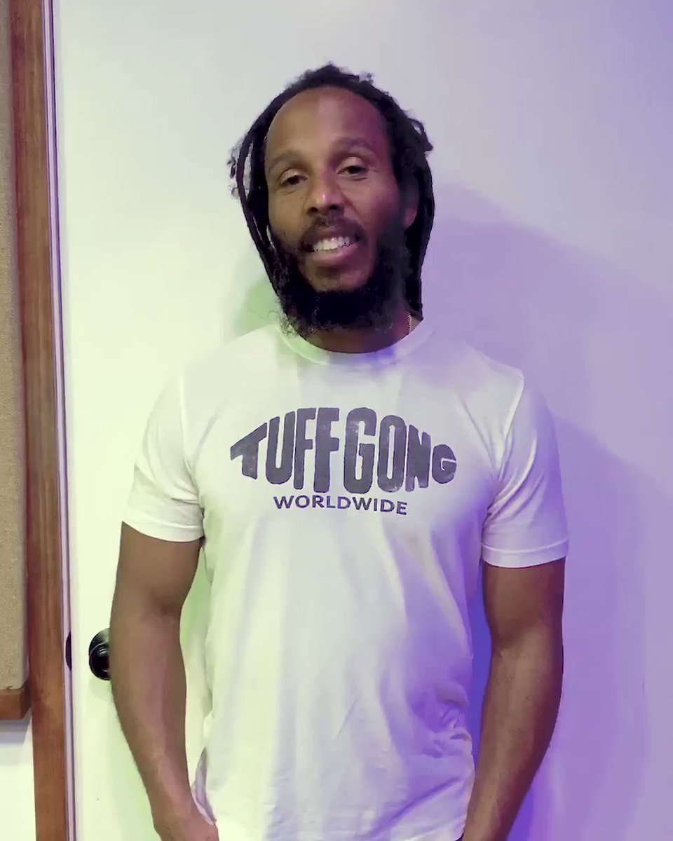Image for the Tweet beginning: Thank you to @ziggymarley for