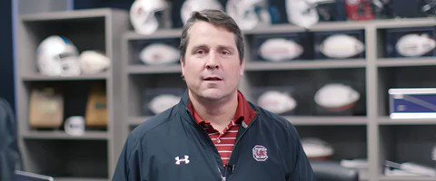 "Will Muschamp wants South Carolina fans to ""get the fuck"" out of their seats.  I'm guessing this video wasn't supposed to leak. https://t.co/TUx4QPnGme"