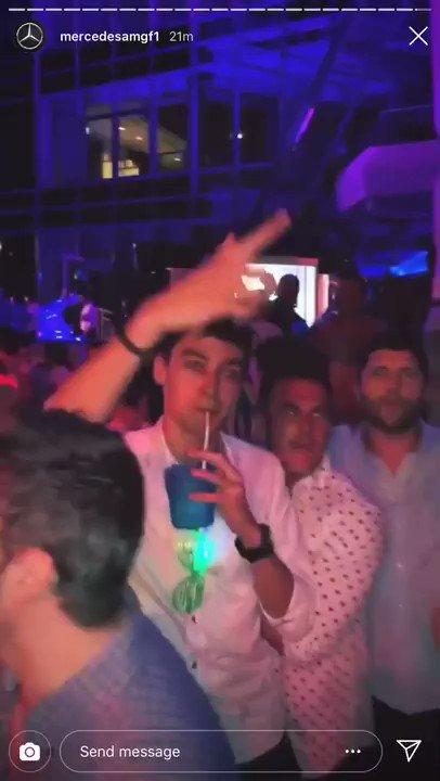 He'll be raving @MercedesAMGF1 #GeorgeRussell #f1