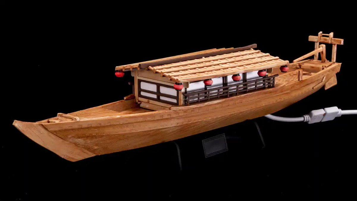 ものすごい音と光でブチ上がるパリピ専用の屋形船をプラモで作りました