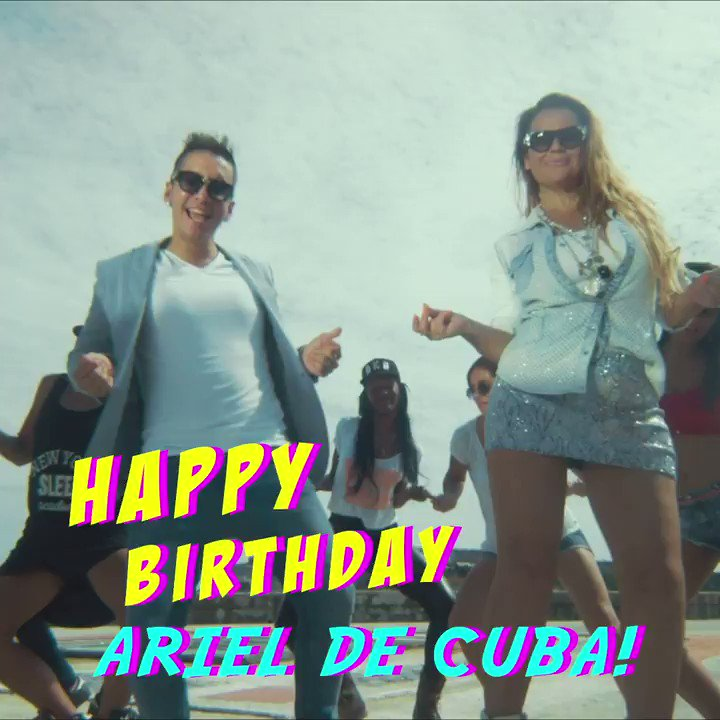 Happy birthday al mismísimo Rey Del Party @arieldecubareal 🙌 🎉 🎈 Tap the link for #Acurrucate ft. @KatiaAveiro #ArielDeCuba #KatiaAveiro ▶️ https://t.co/CG58dN1PBm https://t.co/Yq20YbM1RH