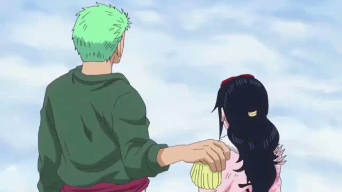 Zoro quand il a dit que Tashigi était inférieure à lui