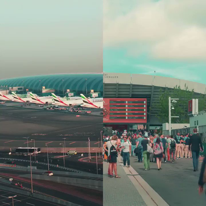 The clay courts are back in action and the Emirates A380 is back in the sky. As tennis returns to @RolandGarros, fly the Emirates @Airbus A380 daily from Paris.   #BackInTheGame #FlyEmiratesFlyBetter https://t.co/VCOYrcQsl7