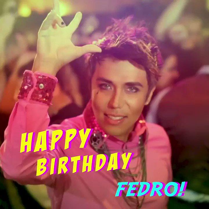 Happy Birthday to the amazing @FedroMusic 🙌 🎉 🎈 Tap the link for #Fedro #Fiesta ▶️ https://t.co/9Xn4Yuiloj https://t.co/XpyJdPAvzd
