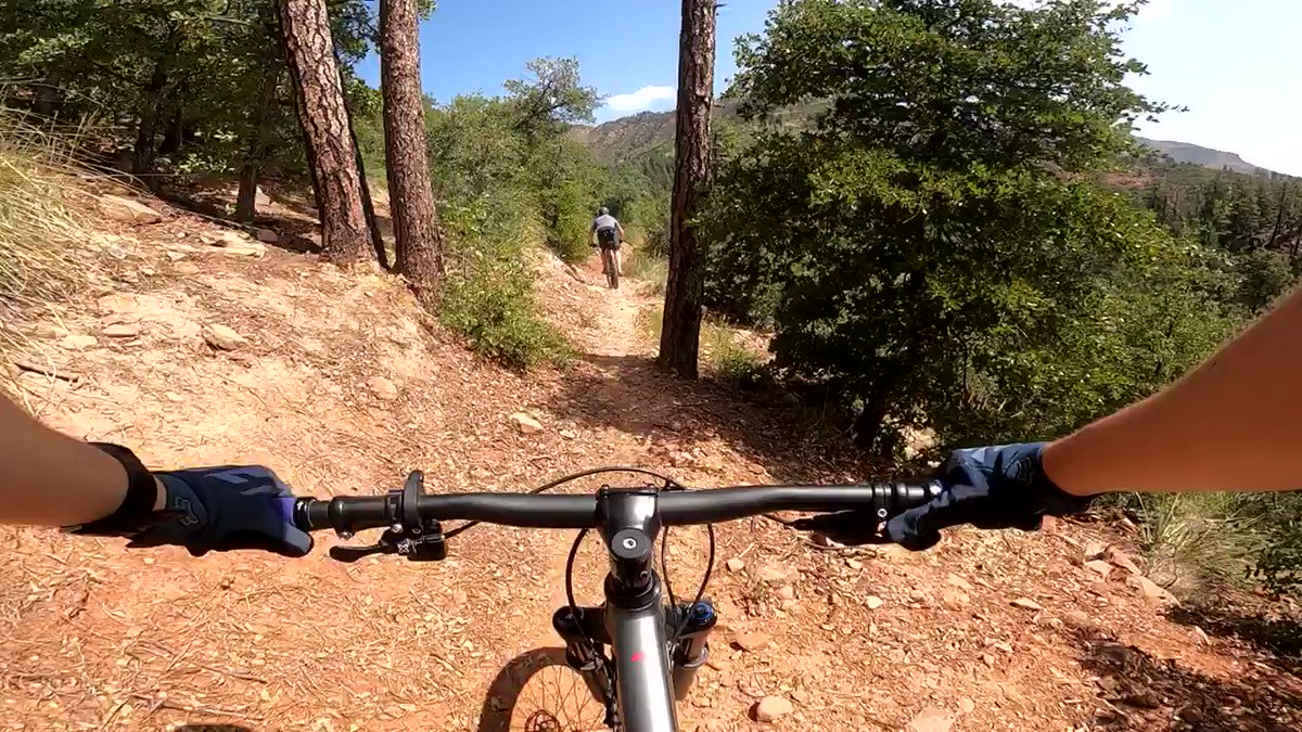 Easily my favorite section from my last ride! #mtb #mountainbike #gopro #pov