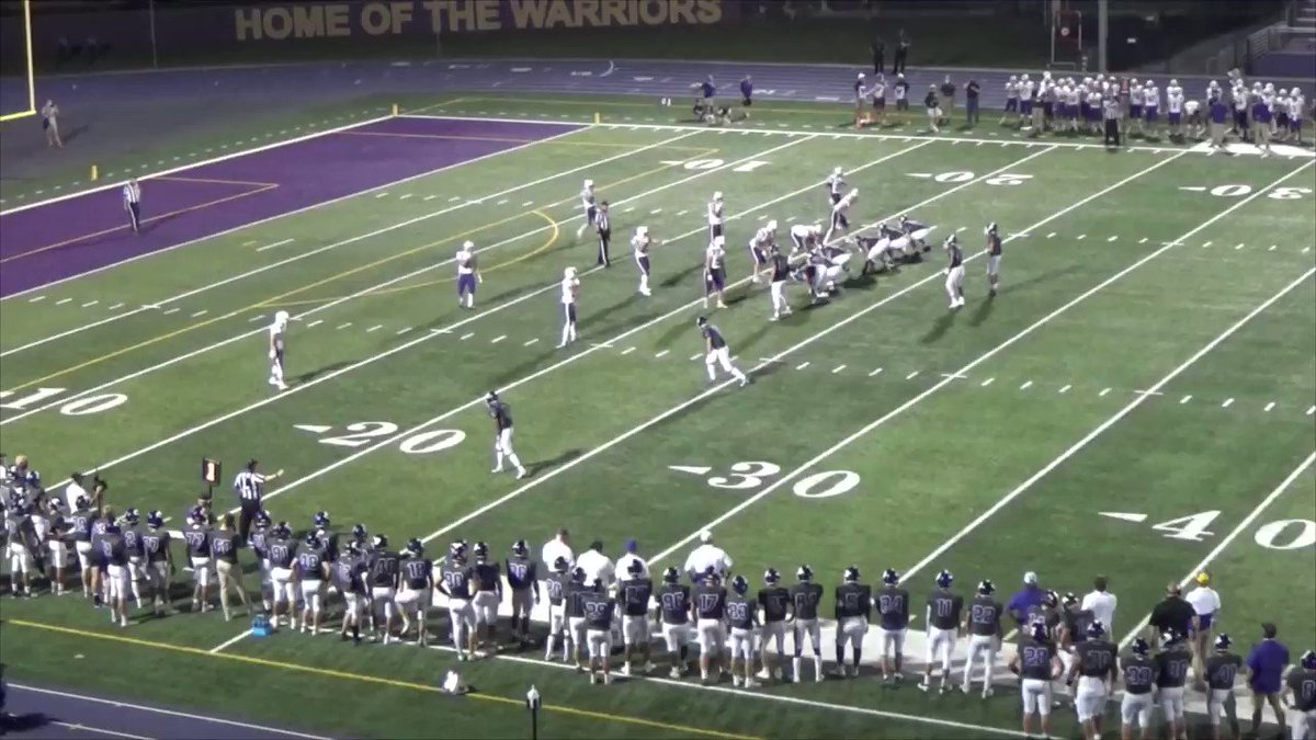 Image for the Tweet beginning: Offensive POG 1 @WaukeeFB vs