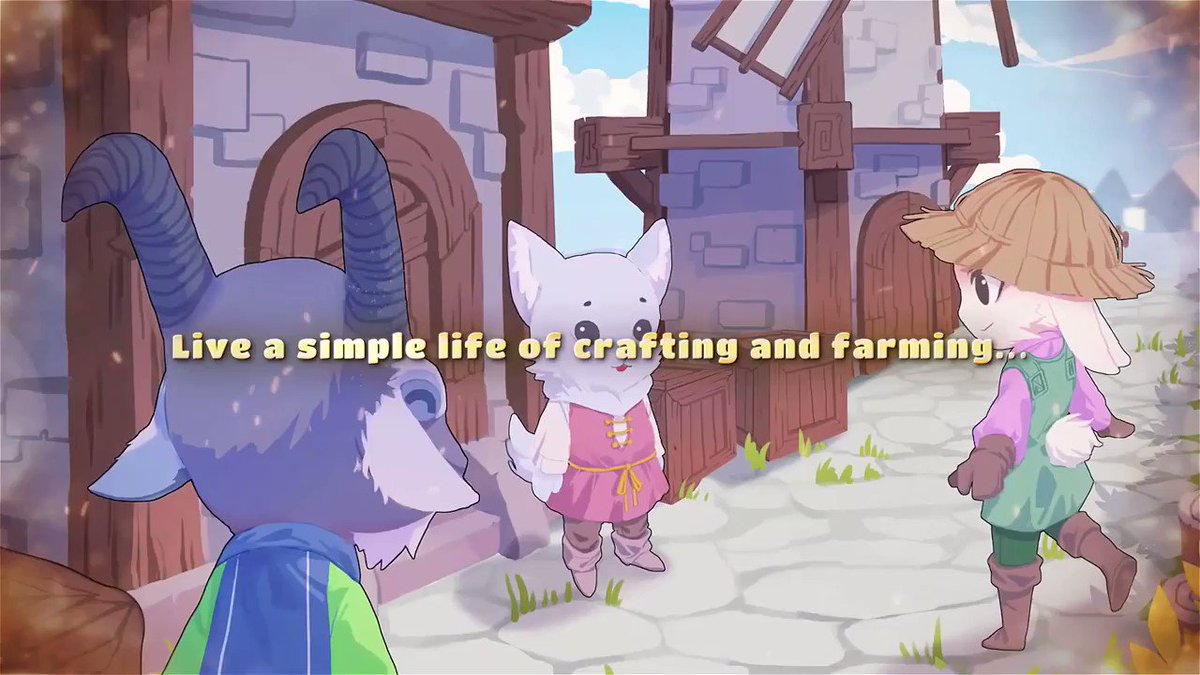 Kitaria Fables is a cute fusion of action, adventure, and farming. The combination of life-sim elements and MMO-style combat reminds me of Fantasy Life. Coming from me, thats a huge compliment! @KitariaFables | store.steampowered.com/app/1356280