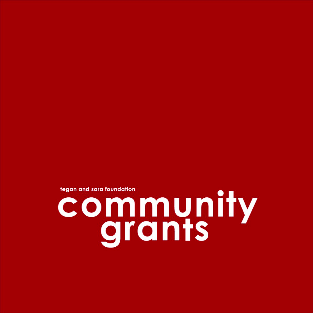 OPEN CALL: Were accepting applications from Canadian #LGBTQ2S+ organizations for our next round of #TSFCommunityGrants! If youre with a Canadian organization serving the #LGBTQ2S+ community, visit teganandsarafoundation.org/community-gran… to apply.
