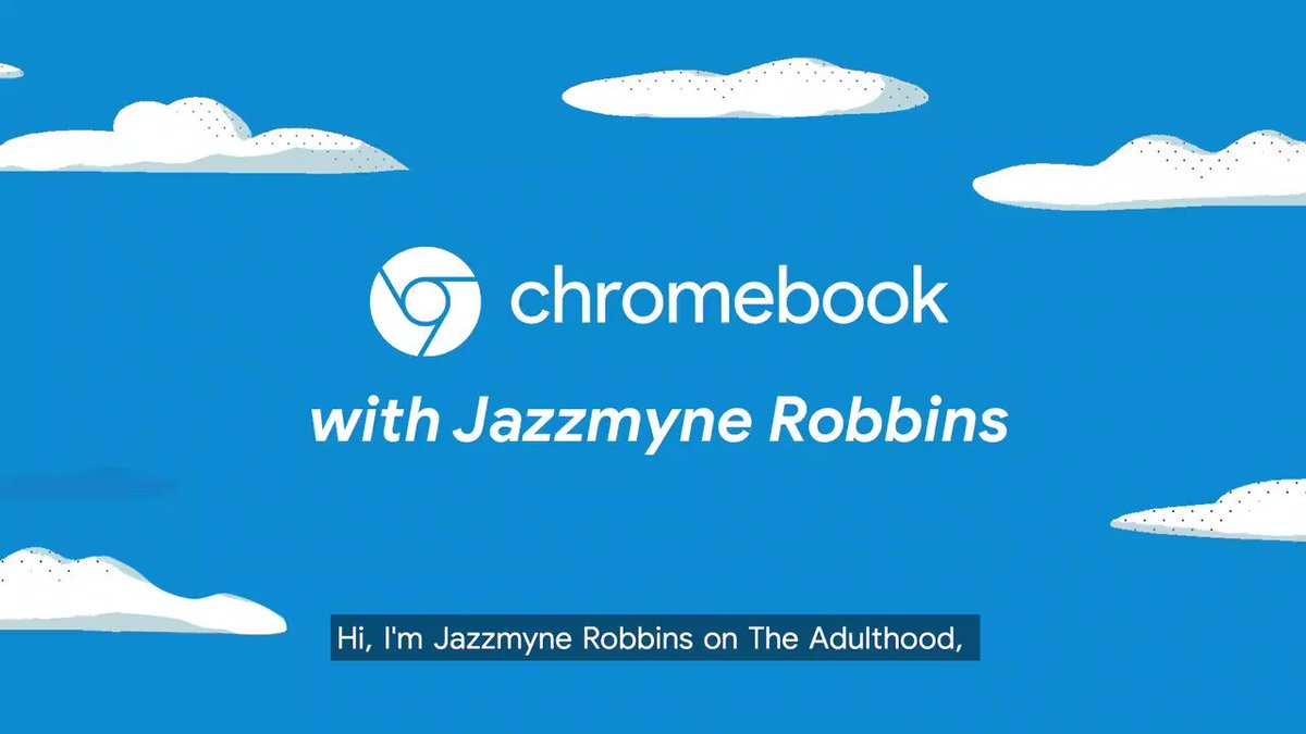 We tapped @jazzmynejay to share the key🔑 to online dating, confidence and so much more. Swipe right with @jazzmynejay in the newest episode of #TheAdulthood from #Chromebook →