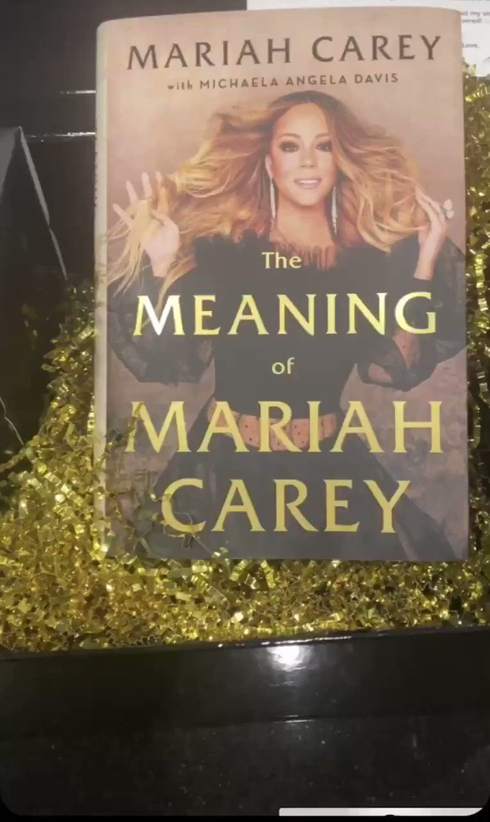 .@MariahCarey ThankYou so much🙏🏾 I can't wait to read this!!😭May your ICONIC Legacy Continue to inspire many generations to come💜🙏🏾 https://t.co/ybRaLFnqgA