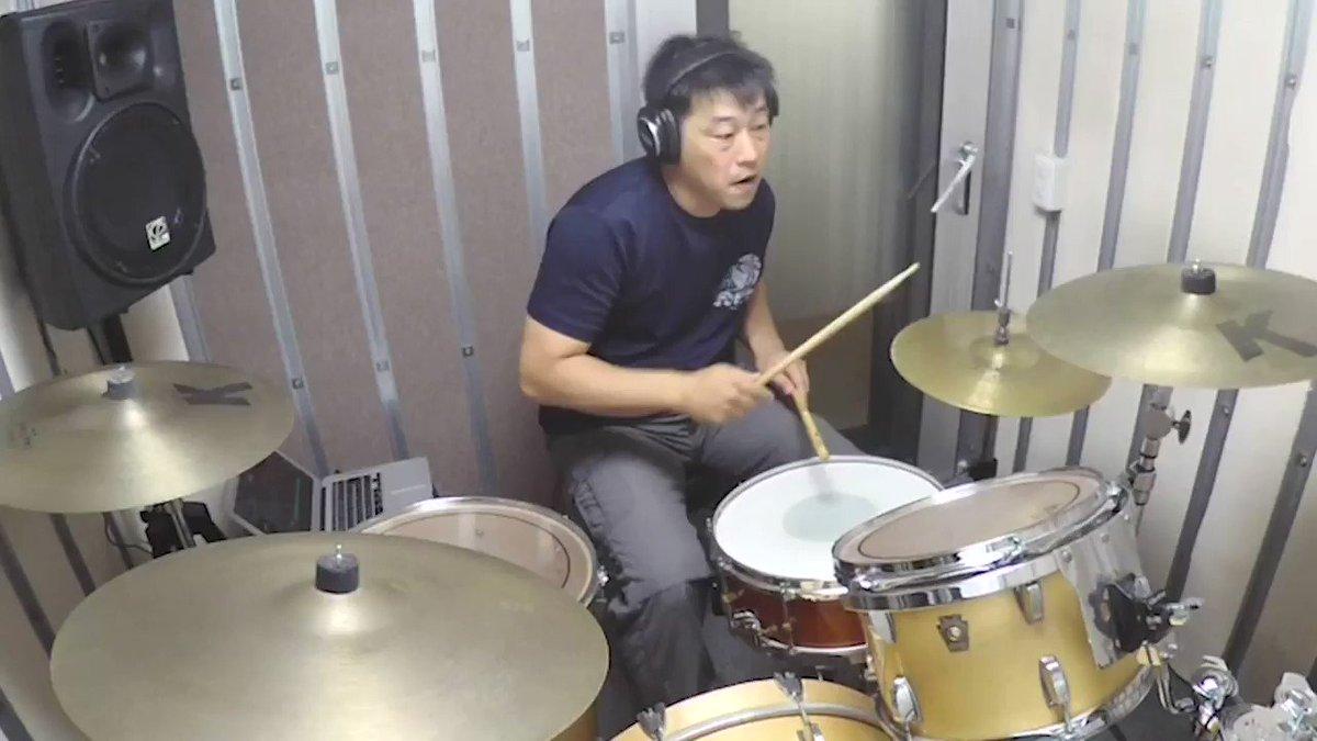 ドラムの森田講師がヨルシカのただ君に晴れを叩いてみた!!全編はこちら