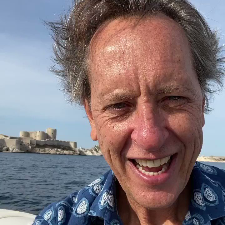 Hurtling towards Chateau D'IF off the coast of Marseilles to explore the locations in The Count of Monte Cristo.