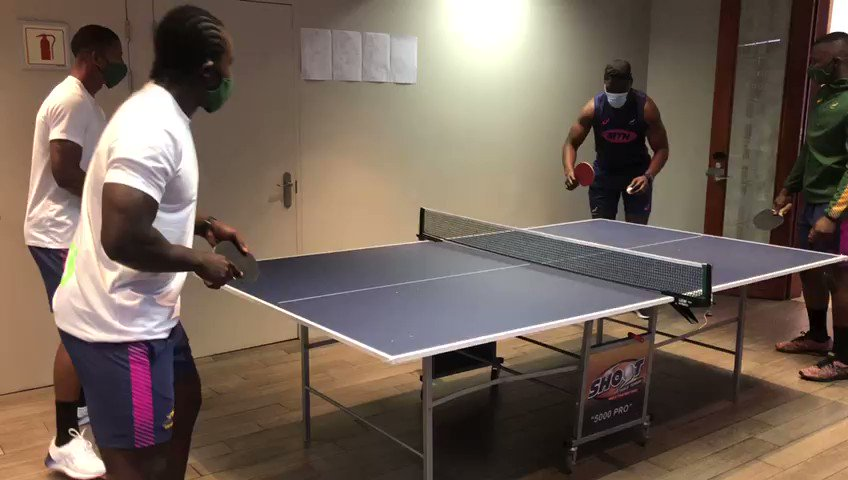 🏓 Do these guys from the Green squad have a future playing ping-pong? Like if you agree! 😉