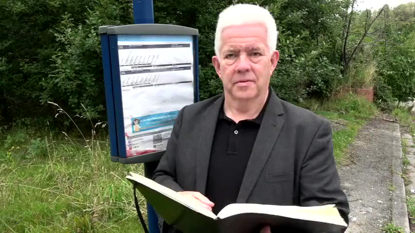 Happy #NationalPoetryDay Remembering simpler times, when we could board a bus with our faces on full view, @IMcMillan wrote this ode to Barnsleys busses for #NPD2017. Well be posting throughout the day so whether youre home or travelling we hope youll join us for more poems