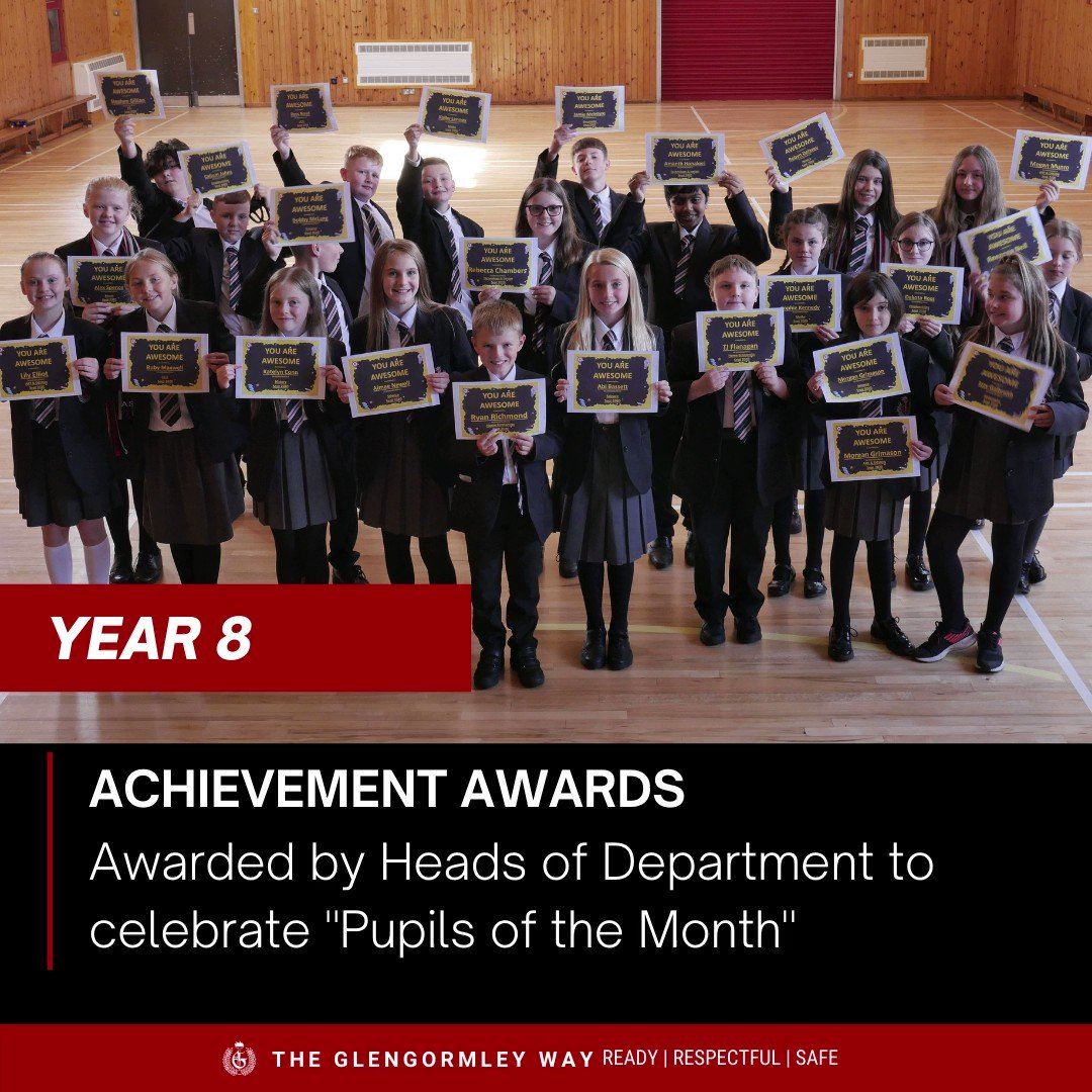 Image for the Tweet beginning: Well done to our Year