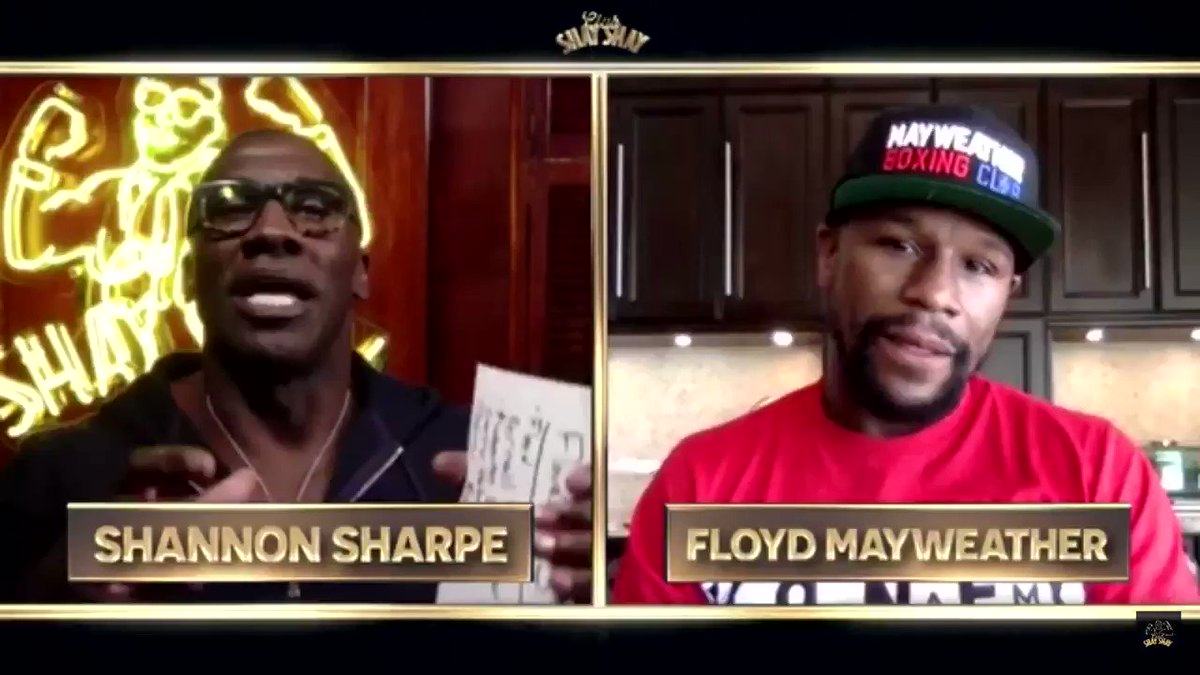 Floyd breaks down how he would've beaten Leonard, hagler & Duran. Surprisingly he said Duran will be his toughest fight and he would half to be perfect to beat him. #ClubShayShay https://t.co/Hs0XwtsODL
