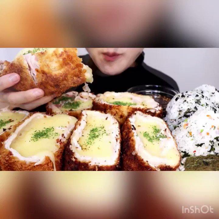 Kasumi asmr チーズ とんかつ