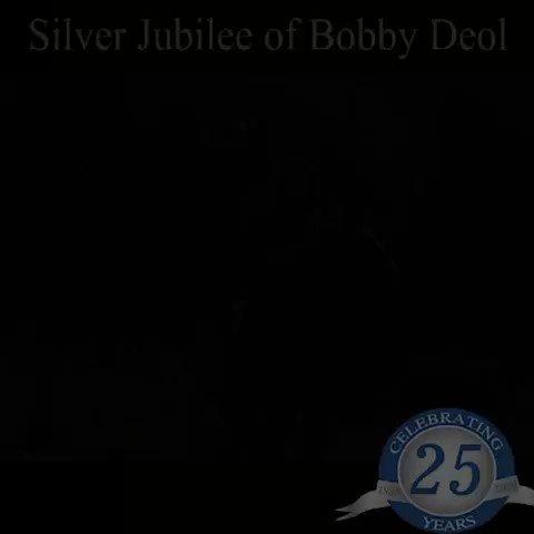 Replying to @yoursHarpreet: @aapkadharam @aapkadharam 🙏Silver Jubilee of Bobby Deol 💓✊