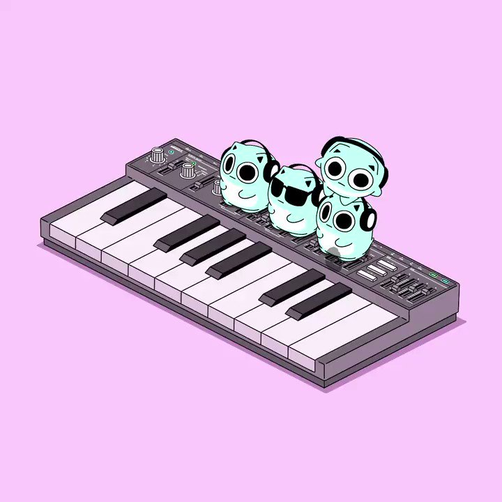 小さなシンセサイザー奏者