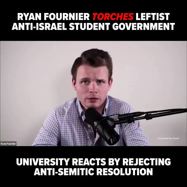 VICTORY: University of Illinois at Urbana-Champaign administrators quickly condemned an @ILStudentGov-backed resolution calling to defund the police and boycott Israel. @RyanAFournier joined the vote via Zoom and torched the leftist student government. @SJPUIUC