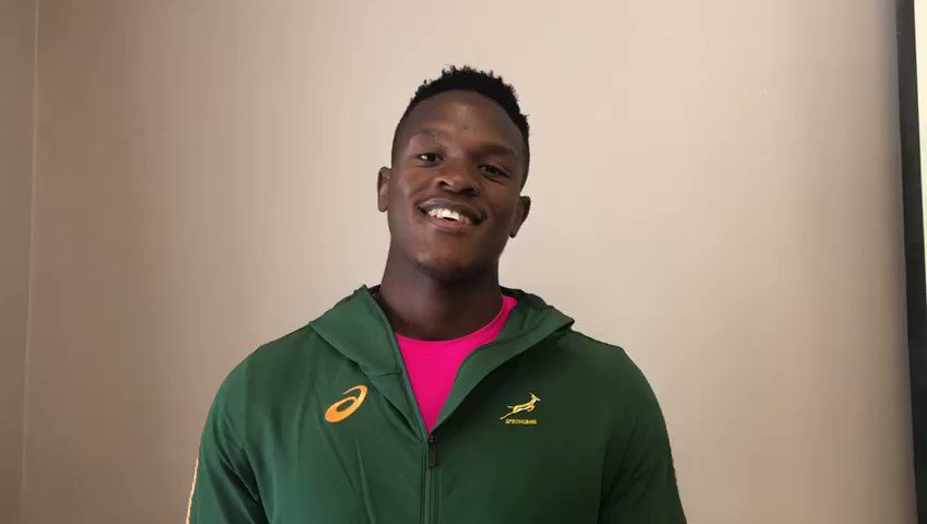 🎥 WATCH! Former Junior Springbok captain Phepsi Buthelezi really enjoyed his time with the Green squad this week... @CastleLagerSA #StrongerTogether