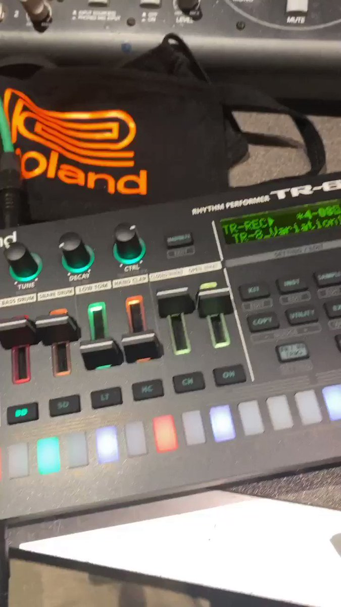 Image for the Tweet beginning: This new TR-6S @Roland_US is