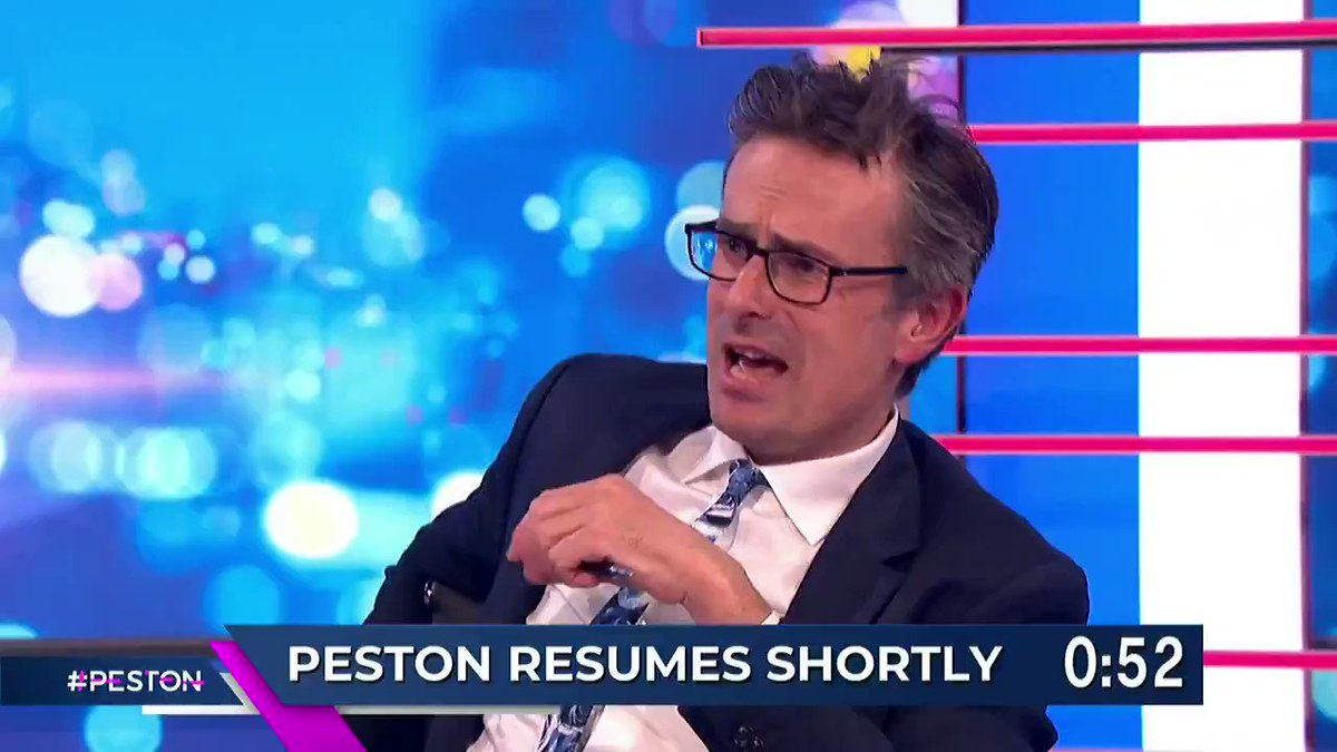 We asked you for a song, to sum up, the political climate. @Peston went one step further and gave us a rendition 🎵 Volume ↑ #Peston
