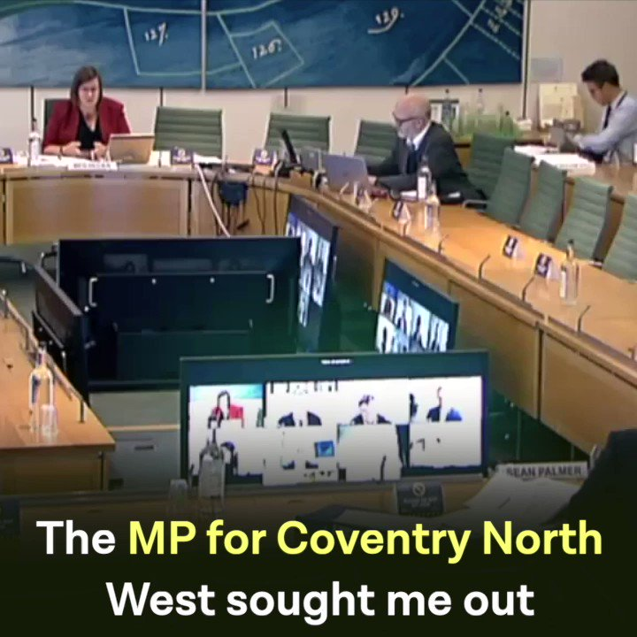 Yet another in the series of failures in communication and competence from the Conservative government. 📺 Watch .@Meg_HillierMP hold the Home Office to account for failing to support Coventry👇🏾