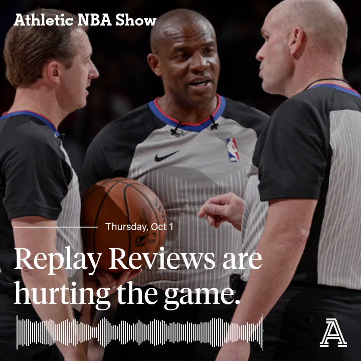 🆕 @AthleticNBAShow with @SherwoodStrauss, @JLEdwardsIII and @MoDakhil_NBA 🏀 Firing Doc the right move? 🏀 Replay Reviews Hurting the Game 🏀 Who's Your #1 Pick? 🏀 Finals Predictions Apple: podcasts.apple.com/us/podcast/poi… Spotify: open.spotify.com/episode/29yo5F…