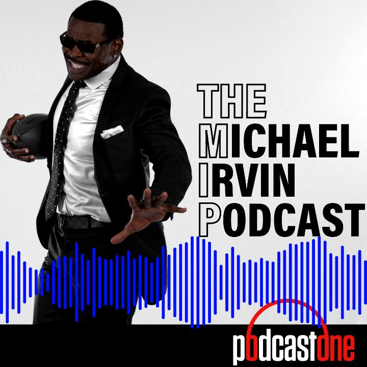 Excited 2 announce THE MICHAEL IRVIN PODCAST! (MIP) Check out my 1st episode w @stephenasmith on Apple Podcasts, PodcastOne & Spotify! This dude always makes me sweat😂!   APPLE PODCASTS  SPOTIFY  PODCASTONE