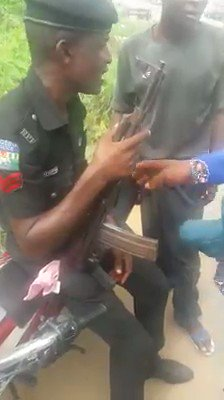 @MBuhari Nigeria Police need mental evaluation for all their officers...