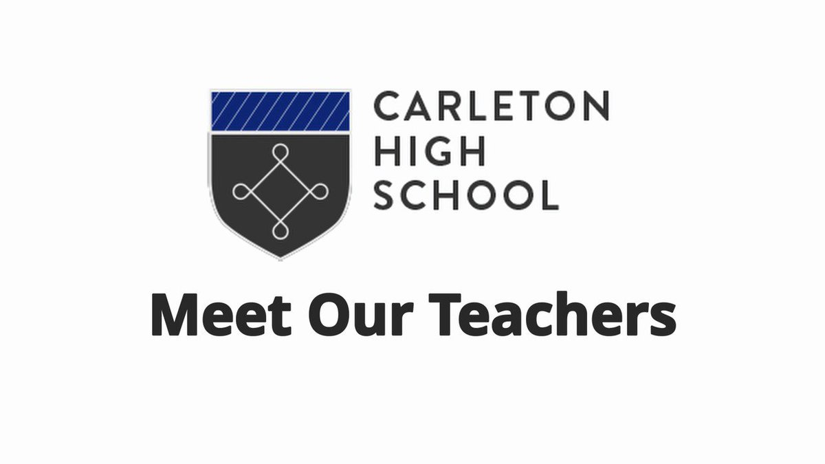 ⭐️Year 6 Virtual Open Evening⭐️ Join us on Facebook Live on 15 Oct from 6.30pm!! In the meantime, meet some of our #phenomenal teachers! #ProudToBeCarleton  Come and join our #incredible team #TeamCarleton.  Part 1 of 3. Full video available here  ⭐️⭐️