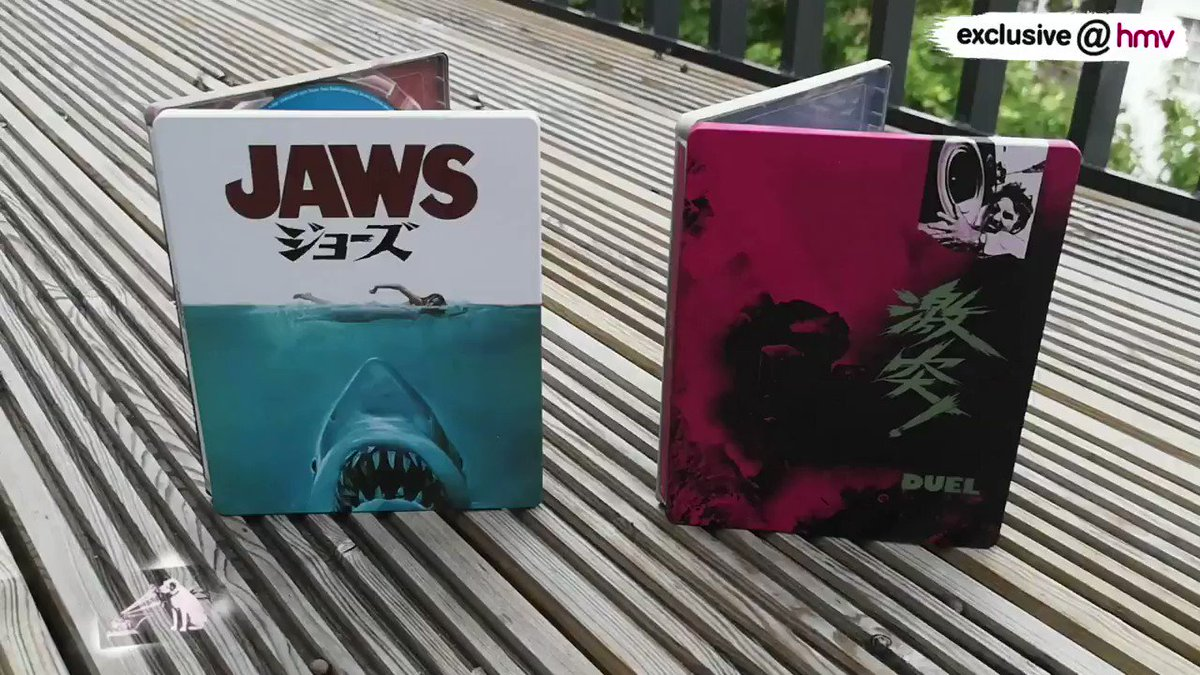 We will trade you a dreary wet miserable Monday for #hmvBluMonday  Check out these awesome #exclusive@hmv Japanese artwork Steelbooks out today!   Fancy winning them?!  RT with #hmvBluMonday Must be following this account UK only  Get yours right here!: