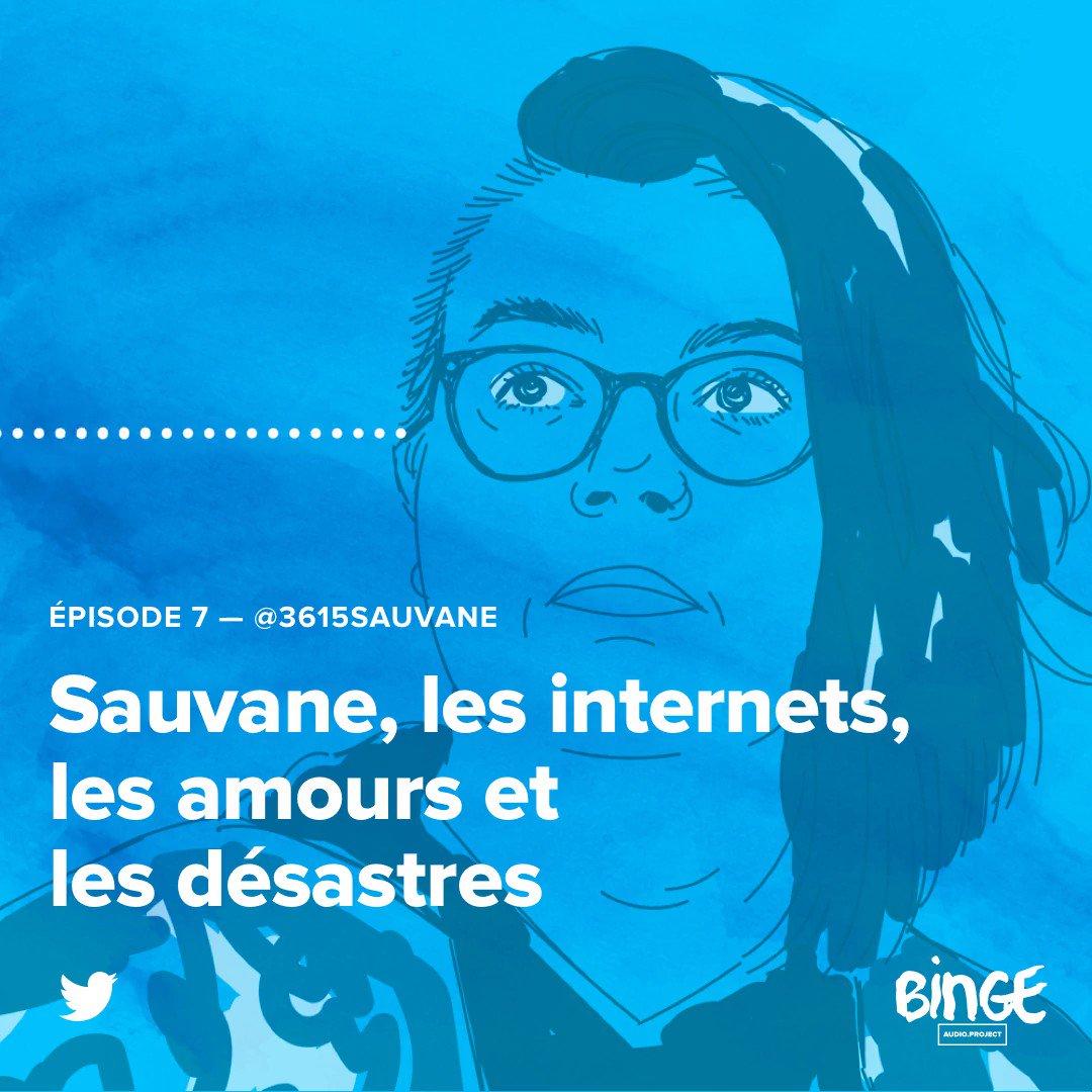 Twitter, c'est son livre avec des images. Retrouvez les folles histoires de @3615sauvane au micro d'@anoukperrypod dans le 1er épisode de la saison 2 de #DerrièreleTweet. Une production Binge Audio en partenariat avec @TwitterFrance ✨
