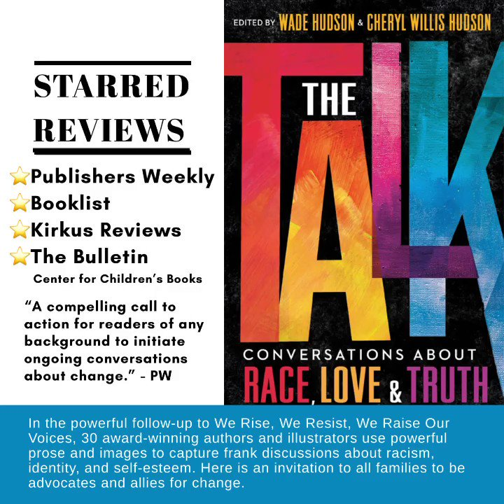 We've received great reviews for The Talk and would love to add YOURS! Pls share your review on @goodreads or wherever you buy #books (JustUsBooks.com, AALBC.com, your fave indie bookstore, etc) Sharing on social? Pls tag @justusbooks & use: #TheTalkbook