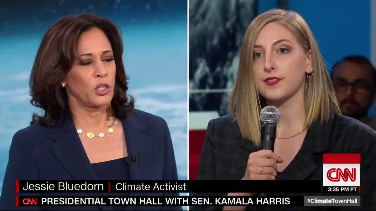 """Kamala Harris wants this video of her saying """"There is no question I'm in favor of banning fracking."""" off the internet.  Please don't share this"""