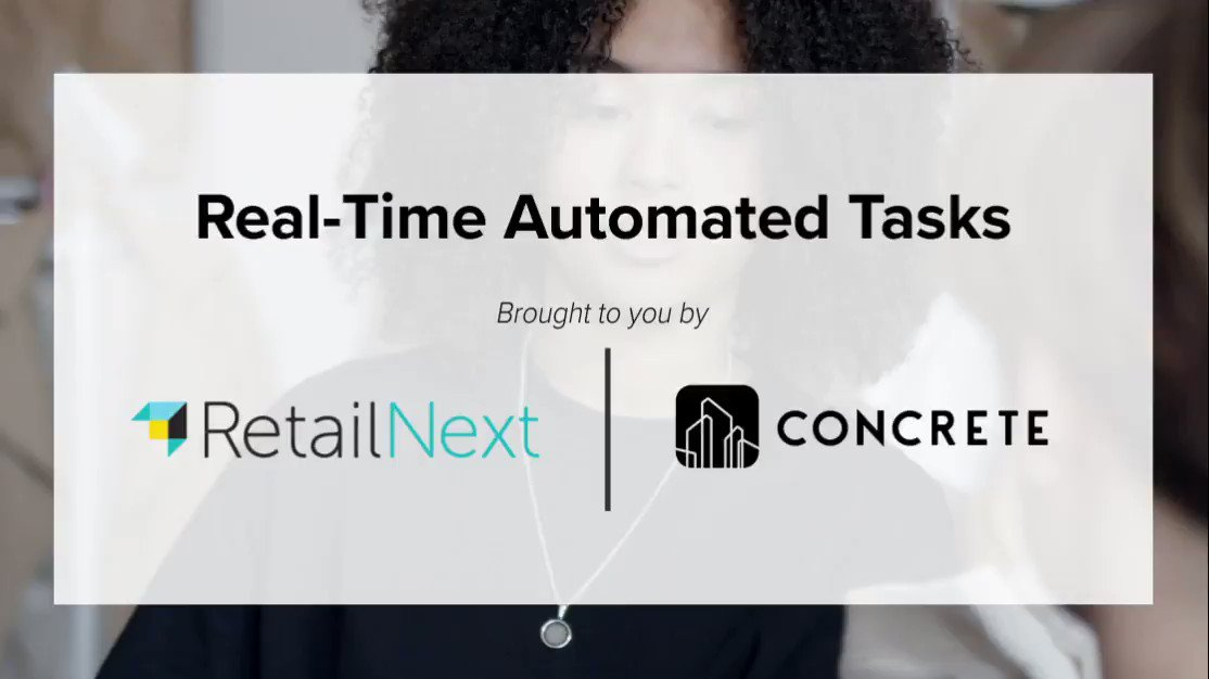 Another exciting partnership with @Concrete (https://t.co/ohcH3Eoxae)! Give sales associates the right tools to respond in-real time to #occupancy thresholds, promotional insights and store changes.  Learn more here ----> https://t.co/DjooUI94jW https://t.co/f9a3ElVzKZ