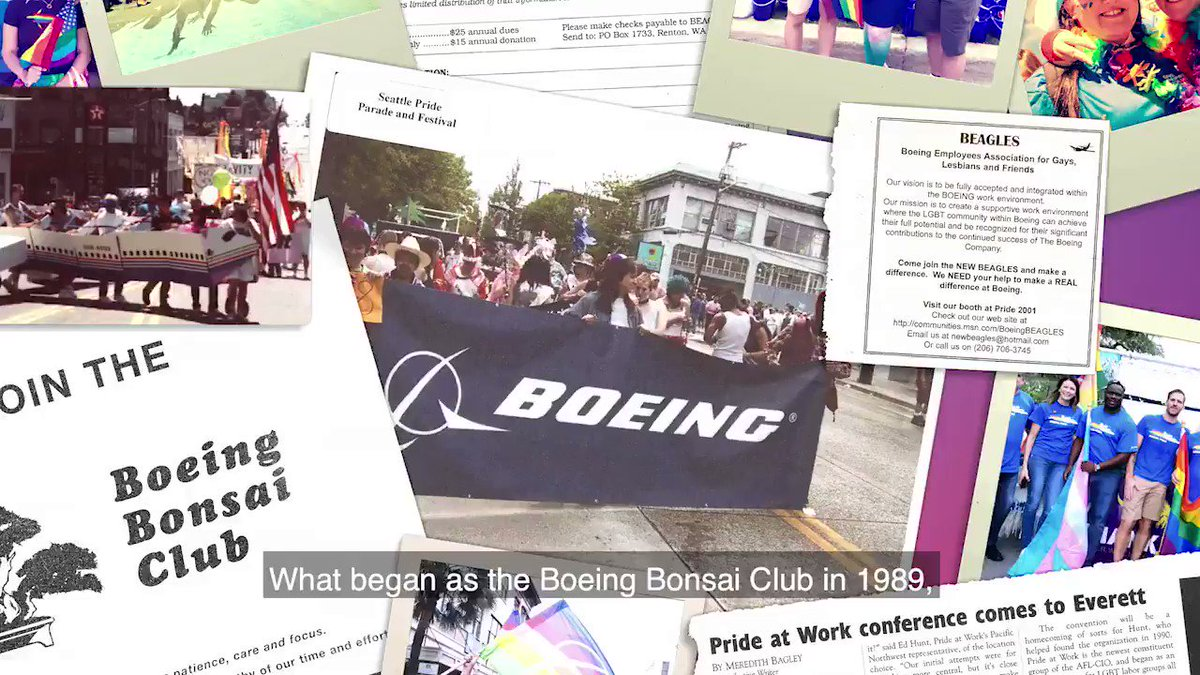 Equality is essential to #TeamBoeing's culture. Our efforts go back to 1989 with the founding of the Boeing Bonsai Club.  At #OESummit, we're honoring the legacy of the Boeing pioneers who founded our first LGBTQ+ employee-led resource group. https://t.co/awMSYYei2Y