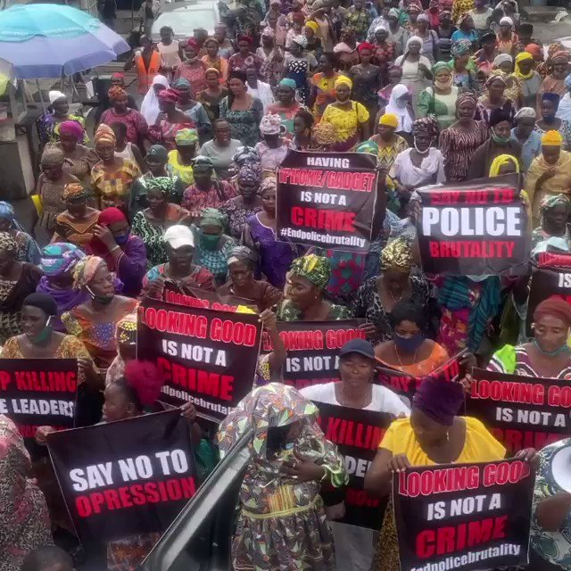 Our mothers are speaking with one voice #EndSARS