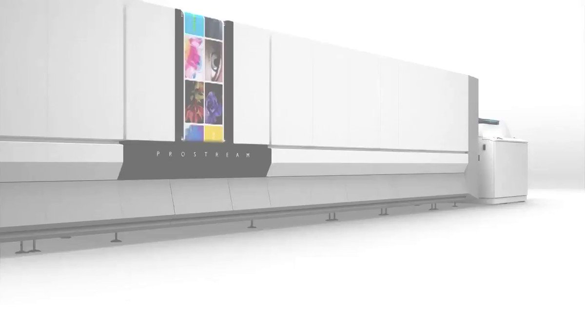 Image for the Tweet beginning: Built for high-quality #inkjet production