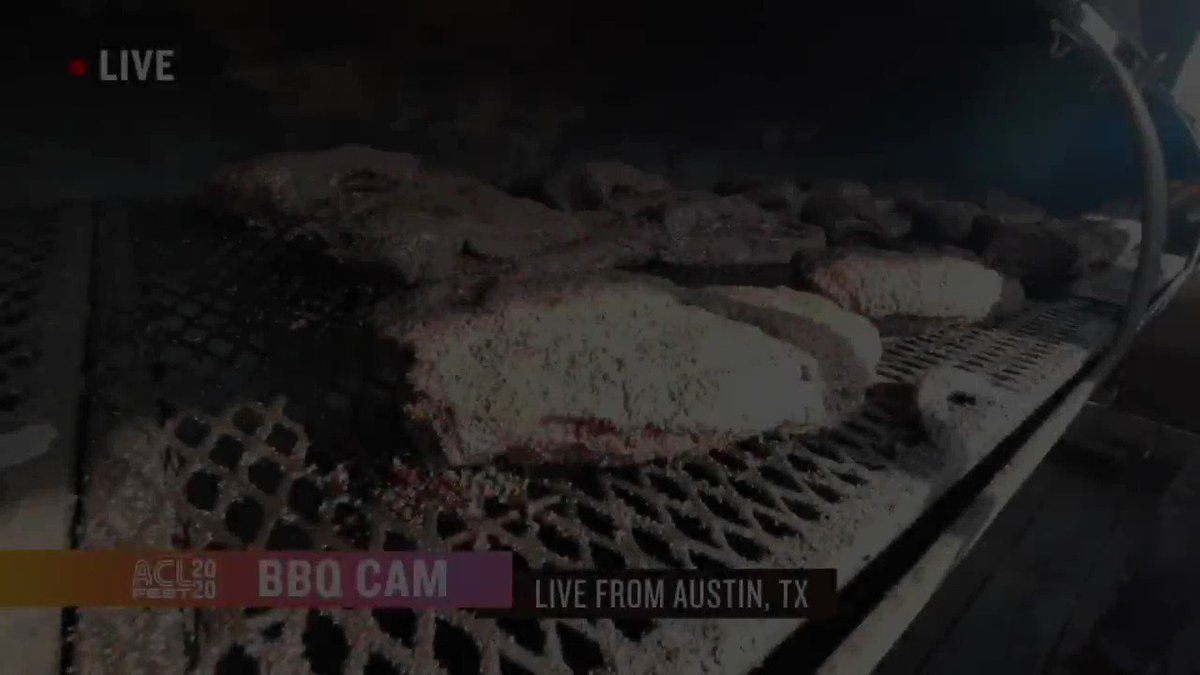 Are y'all as excited about the brisket cam as we are? Tune in again tonight for more mouthwatering brisket and BBQ tips. Thanks to @Valstexmexbbq, @LeRoyandLewis and @slab_bbq for sharing their knowledge (and their smokers).