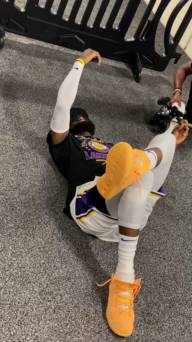 """LeBron James FaceTimes his mother Gloria after winning his fourth title: """"Everything that you had been through, everything that I had seen, there's nothing that can stop me. I hope I continue to make you proud, Mom."""""""