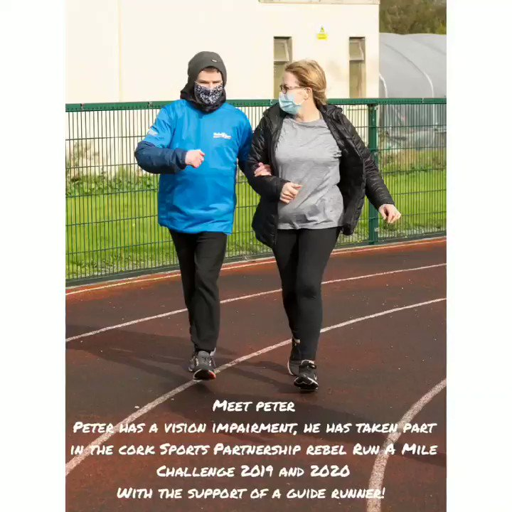'I did it because I want to keep moving, keep fit, keep healthy and keep safe especially in the midst of all this uncertainty' ☘  #RebelRunAMile2020 #KeepCorkActive #CorkSportsAbility   @CorkSports | @sportireland | @sjf_charleville | @rtenews | @CaraCentre_ie | @HOS_HandWB_CK https://t.co/ti3hpzBVDb