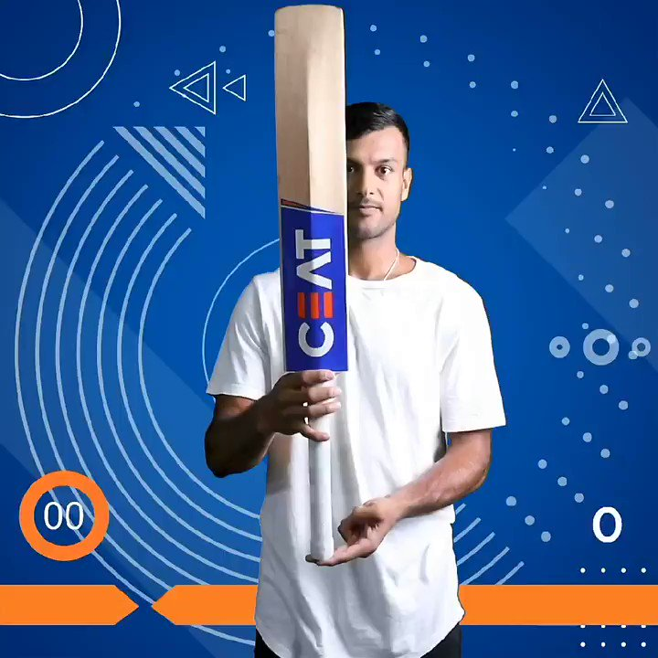 I had plenty of fun doing #CEATBalanceTheBatChallenge.   I would like to challenge three supremely talented individuals, the newest addition to the CEAT family @aamir_khan, cricket aficionado @SaiyamiKher and my coach @RXMuraliRX sir. Super excited to see you guys perform 😉