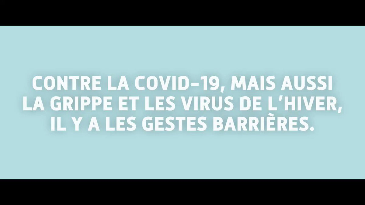 Image for the Tweet beginning: Contre la #Covid19, la #grippe